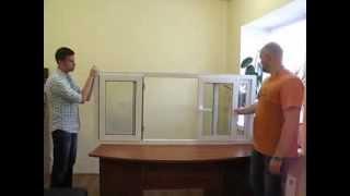 Раздвижные системы Харьков(Видео позволяет более подробно ознакомится с уникальными для Восточной Европы слайдинговыми металлопласт..., 2013-11-17T10:22:29.000Z)