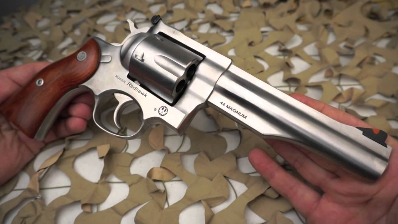 Ruger Redhawk Sa Da 44 Magnum Stainless Revolver Overview
