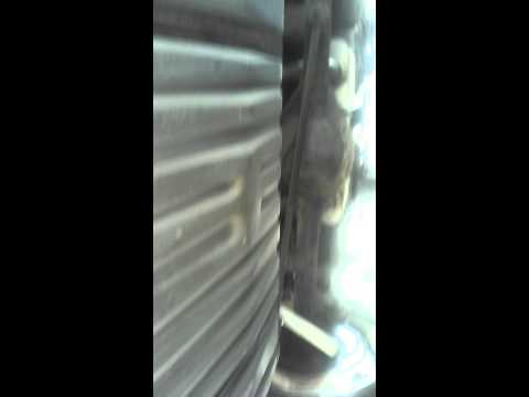 Green Chevy Caprice - Video link 1 underneath car