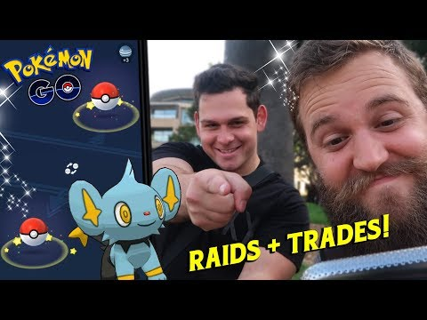 RAIDS AND TRADES WITH FLEECEKING (POKEMON GO SYDNEY, AUSTRALIA VLOG)