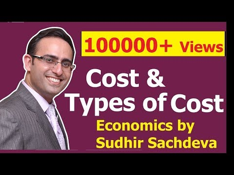 # 34 Economics- Cost - Types of Costs in Economics (Part-1)