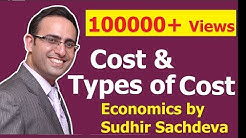 # 34 Economics- Cost - Types of Costs in Economics (Part-1)