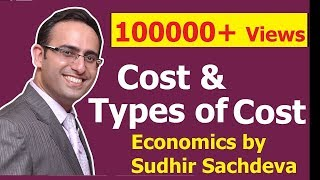 # 34 Economics  Cost   Types Of Costs In Economics (part 1)