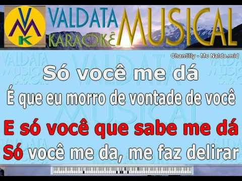 Chantilly   Mc Naldo   Karaoke