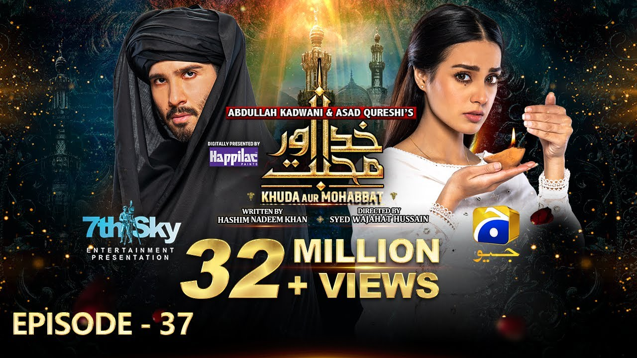 Download Khuda Aur Mohabbat - Season 3 Ep 37 [Eng Sub] Digitally Presented by Happilac Paints - 15th Oct 2021
