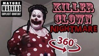 Killer Clown Nightmare - 360 VR Horror