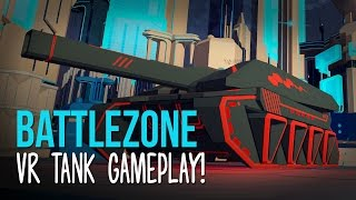 Battlezone PlayStation VR Gameplay