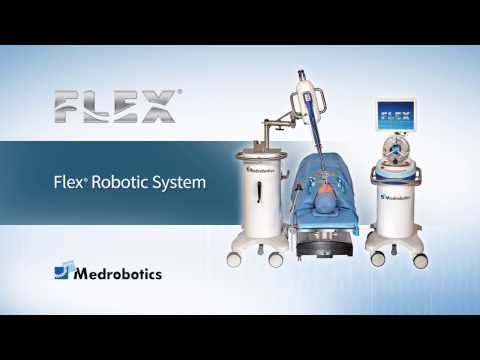 Flex® Robotic System Head & Neck Overview Animation