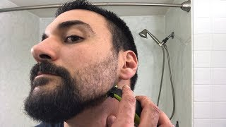 Beard Trimming - Philips Norelco OneBlade Trimmer and Shaver - Model QP2520 - Part 2