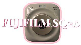 Fujifilm SQ20 - The Camera with NO TRIPOD MOUNT