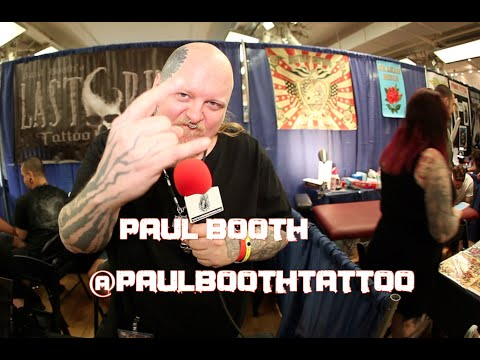 PAUL BOOTH: H.R. Giger, Metal's Toughest/Weakest & Changing Misconceptions About Tattoo Artists!