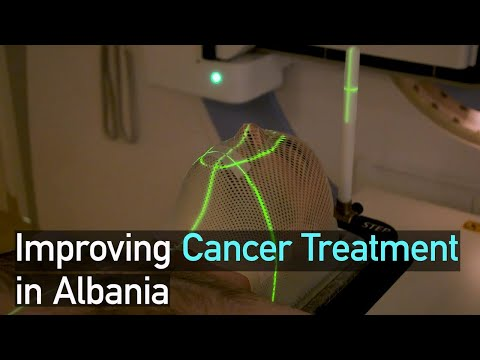 Improving Cancer Treatment in Albania