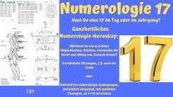 Ganzheitliche Numerologie - Die Zahl 17