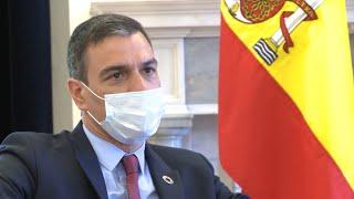 """Sánchez, """"agradecido"""" por la respuesta de los países a la candidatura de Calviño"""