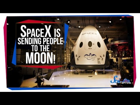 SpaceX Is Sending People to the Moon!