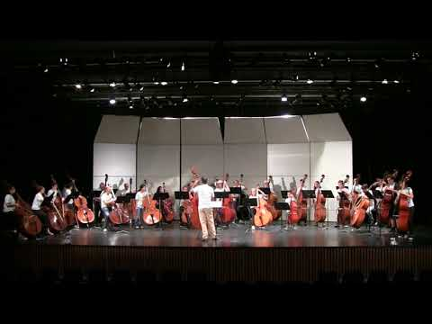 2018 San Diego Bass Fest Orchestra - Blues in the Basement by Ray Brown arr John Clayton