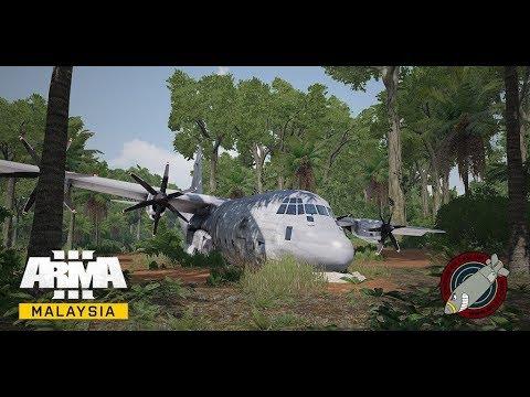 ArmA 3 Malaysia - Operation Swamp Angel [281017] (LIVE)