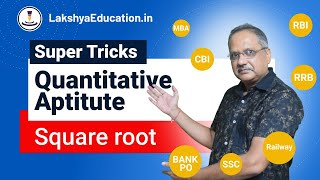 square root in just 3 second