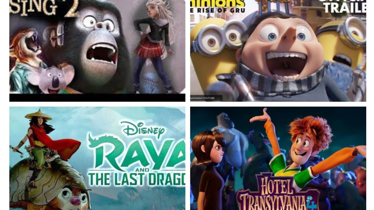Top Upcoming Animated Movies 2021 ?