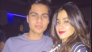 Sridevi's daughter jhanvi kapoor intimate photo with her boy friend | hot cinema news