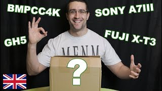 UNBOXING NEW CAMERA - BMPCC 4K / GH5 / SONY A7III / FUJI X T3 - and WHY