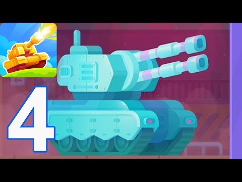 Tank Stars - Gameplay Walkthrough Part 4 - FROST (iOS, Android)
