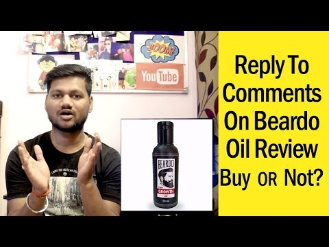 Reply To Comments On Beardo Oil Review | Tech Wire Connect