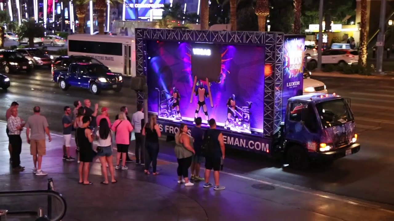 Iconic Mobile Build-Outs - Las Vegas Mobile Billboards