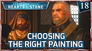 Witcher 3: HEARTS OF STONE ► Choosing the Correct Painting by Var Der Knoob #18