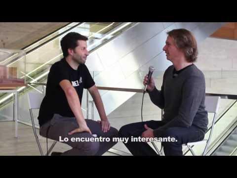 3 Fragen an Aram Bartholl / 3 preguntas a Aram Bartholl