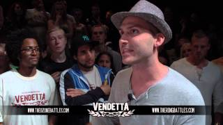 Vendetta 2012 Åttondelsfinal: Grizzly vs R-Man