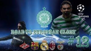 PES 2013 - UEFA Champions League - Road To European Glory #12 - Barcelona VS Celtic SF 2nd Leg