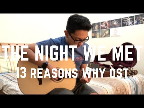 Lord Huron - The Night We Met - Solo Fingerstyle Guitar