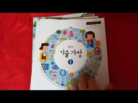 有意思的韩国初中教材,体育.社会.职业.家庭等内容一点也不少