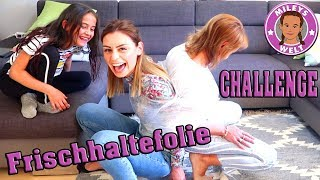 GEFESSELT IN FRISCHHALTEFOLIE - Pärchen Challenge - Mileys Welt