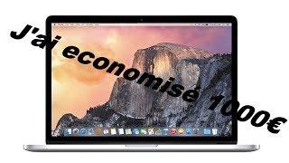 J'ai économisé 1000€ ! Unboxing Macbook reconditionné