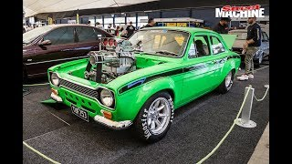 Blown Holden 253 in a Ford Escort Mexico!