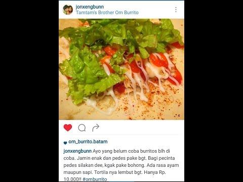 Wirausaha Batam Kuliner Om Burrito's Khas Mexico