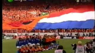 EURO 2000 Italy vs Netherlands National Anthem