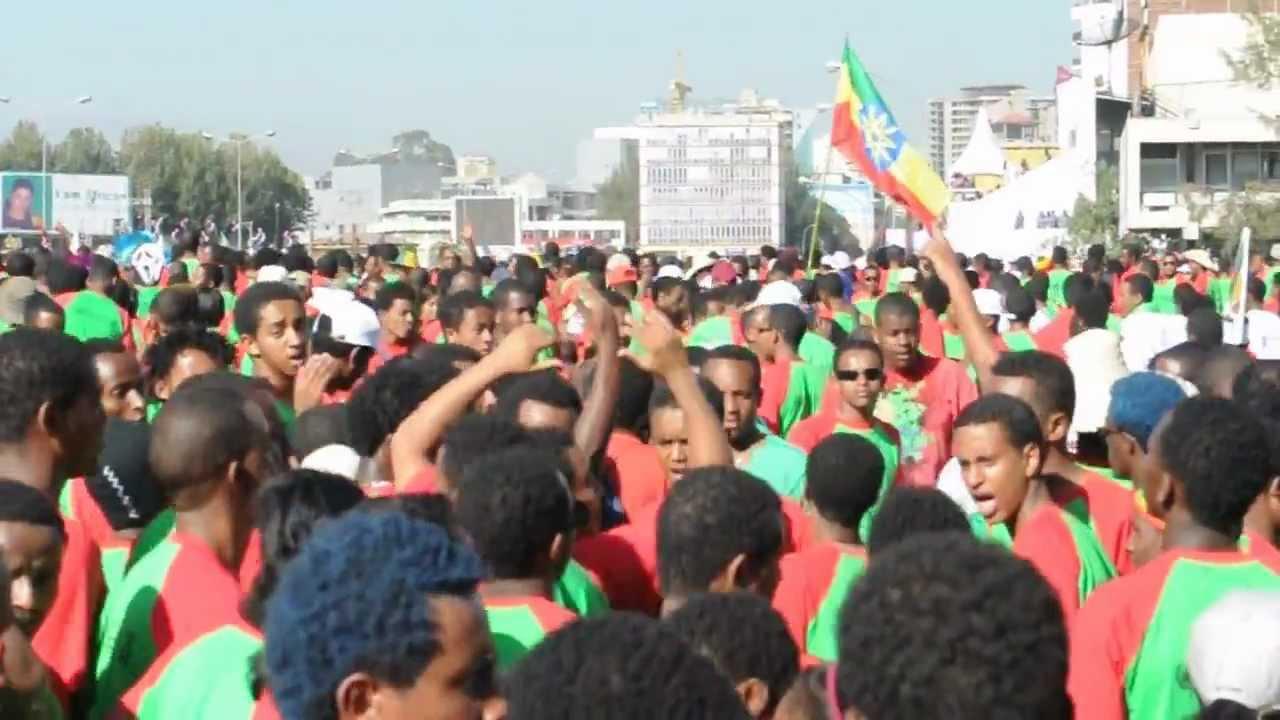 Gangham Style at the Great Ethiopian Run