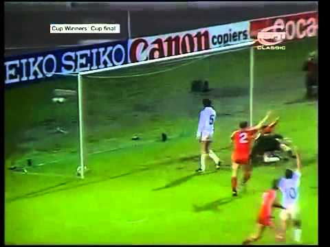 Eric Black Goal v Real Madrid ~1983 UEFA Cup Winners' Cup Final