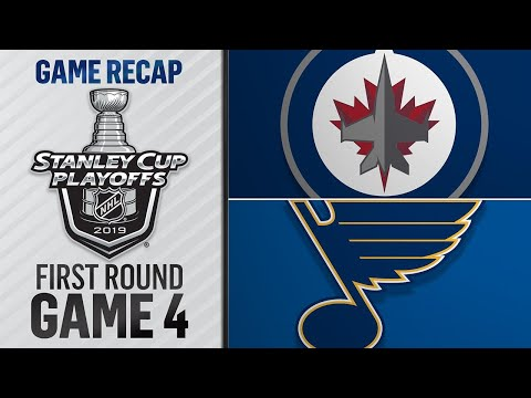 Jets win Game 4 in OT, even series with Blues