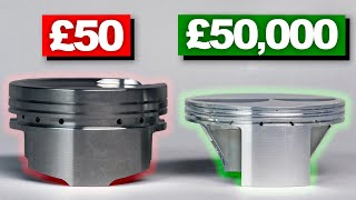 Why F1 Pistons Cost £50,000!
