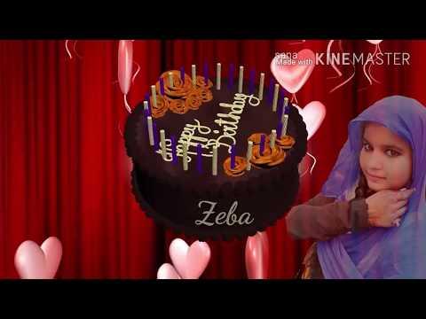 happy birthday zeba