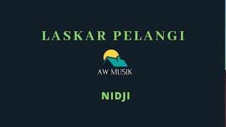 NIDJI -LASKAR PELANGI (KARAOKE+LYRICS)BY AW MUSIK