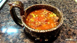 Vegetable Soup with Ground Beef    Useful Knowledge