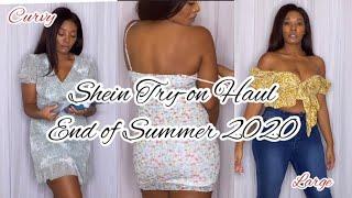 Shein Haul- End OF Summer 2020