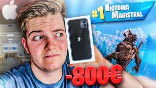 Me compro el iPhone 11 por perder en Fortnite y pasa esto... *800€*