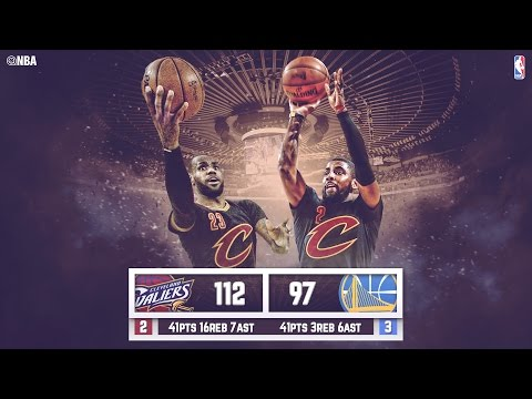 Warriors vs Cavaliers: Game 5 NBA Finals - 06.13.16 Full Highlights