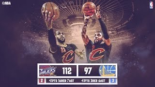 Warriors vs Cavaliers: Game 5 NBA Finals - 06.13.16 Full Highlights